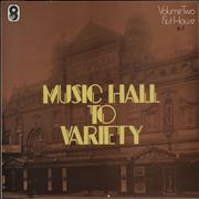 Click here for more info about 'Various-Music Hall & Variety - Music Hall To Variety - Volumes One - Three - Sample - 'R.S.''