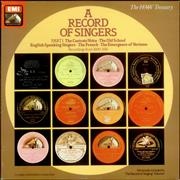 Click here for more info about 'Various-Opera - A Record of Singers: Part 1'