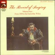 Click here for more info about 'Various-Opera - The Record of Singing Volume 4'