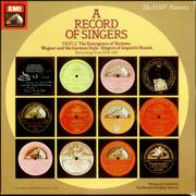 Click here for more info about 'Various-Orchestral - A Record of Singers Part 2'