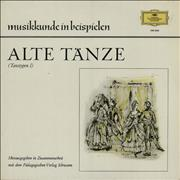 Click here for more info about 'Various-Orchestral - Alte Tänze (Tanztypen I)'