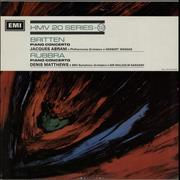Click here for more info about 'Various-Classical & Orchestral - Britten: Piano Concerto No. 1 / Rubbra: Piano Concerto'