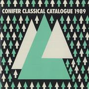 Click here for more info about 'Various-Classical & Orchestral - Conifer Classical Catalogue 1989'