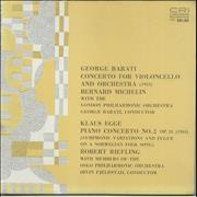 Click here for more info about 'Various-Classical & Orchestral - George Barati: Concerto For Violoncello And Orchestra / Klaus Egge: Piano Concerto No. 2'
