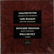 Click here for more info about 'Various-Orchestral - Piston: Concerto For Orchestra / Ruggles: Men & Mountains / Hively: Icarus / Swanson: Short Symphony'