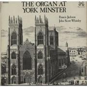 Various-Organs The Organ At York Minster UK vinyl LP