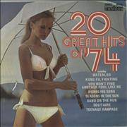 Click here for more info about 'Various-Pop - 20 Great Hits Of '74'