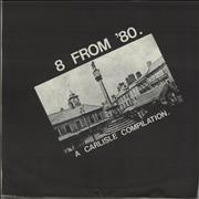 Click here for more info about 'Various-Punk & New Wave - 8 From '80. A Carlisle Compilation. EP - Black p/s'