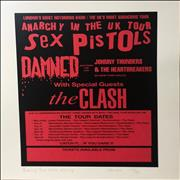 Click here for more info about 'Various-Punk & New Wave - Anarchy Tour After Grundy - Punk Art Print'