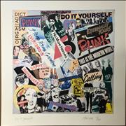 Click here for more info about 'Various-Punk & New Wave - Do It Yourself Collage - Punk Art Print'