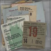 Click here for more info about 'Various-Punk & New Wave - Forty Assorted Concert Ticket Stubs'