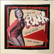 Click here for more info about 'Various-Punk & New Wave - Kiss Me PUNK Till My Mouth Gets Numb - Punk Art Print'