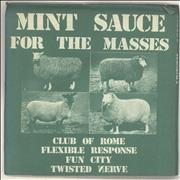 Click here for more info about 'Various-Punk & New Wave - Mint Sauce For The Masses'