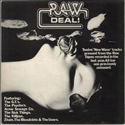 Click here for more info about 'Various-Punk & New Wave - Raw Deal!'