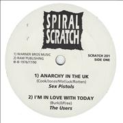 Click here for more info about 'Various-Punk & New Wave - Spiral Scratch EP'