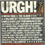 Click here for more info about 'Various-Punk & New Wave - Urgh! A Music War - Promo stamped'