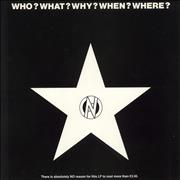 Click here for more info about 'Various-Punk & New Wave - Who? What? Why? When? Where?'
