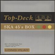 Click here for more info about 'Various-Reggae & Ska - Top-Deck Ska 45's Box'