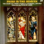 Click here for more info about 'Various-Religious - Faire is the Heaven'