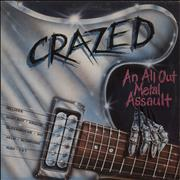 Click here for more info about 'Various-Rock & Metal - Crazed - An All Out Metal Assault'