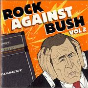 Click here for more info about 'Various-Rock & Metal - Rock Against Bush Vol. 2'