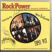 Click here for more info about 'Various-Rock & Metal - Rock Power Magazine Presents - Autographed'