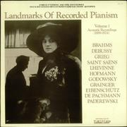 Click here for more info about 'Various-Solo Piano - Landmarks of Recorded Pianism: Volume 1'