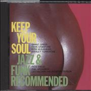 Click here for more info about 'Various-Soul & Funk - Keep Your Soul-Jazz & Funk Recommended'