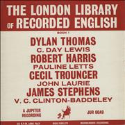 Click here for more info about 'Various-Spoken Word & Poetry - The London Library Of Recorded English Book 1'