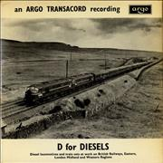 Click here for more info about 'Various-Trains - D for Diesels EP'