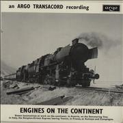 Click here for more info about 'Various-Trains - Engines On The Continent EP'