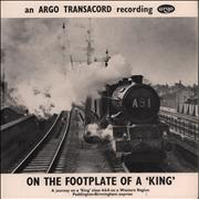 Click here for more info about 'Various-Trains - On The Footplate Of A 'King' EP'