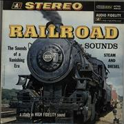 Click here for more info about 'Various-Trains - Railroad: Sounds Of A Vanishing Era - 1st'