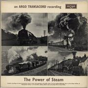 Click here for more info about 'Various-Trains - The Power Of Steam - Front laminated sleeve'