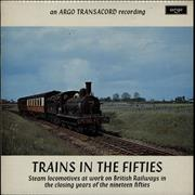 Click here for more info about 'Various-Trains - Trains In The Fifties'