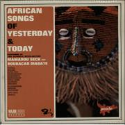 Click here for more info about 'Various-World Music - African Songs Of Yesterday & Today'
