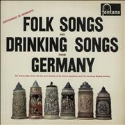 Click here for more info about 'Various-World Music - Folk Songs And Drinking Songs Of Germany'
