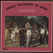 Click here for more info about 'Various-World Music - Musique Folklorique Du Monde - Argentine'