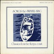 Click here for more info about 'Various-World Music - Songs The Swahili Sing - Classics From The Kenya Coast'
