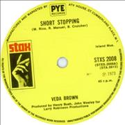 Click here for more info about 'Veda Brown - Short Stopping'