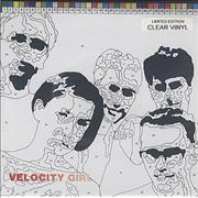 Click here for more info about 'Velocity Girl - Audrey's Eyes - clear vinyl'
