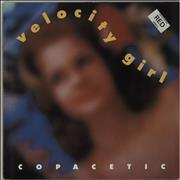 Click here for more info about 'Velocity Girl - Copacetic - Red Vinyl + Poster'