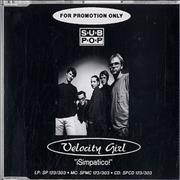 Click here for more info about 'Velocity Girl - Simpatico'