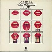 Velvet Underground Andy Warhol's Velvet Underground Featuring Nico - red label - EX UK 2-LP vinyl set