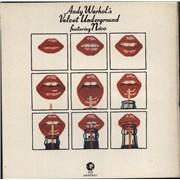 Velvet Underground Andy Warhol's Velvet Underground Featuring Nico - EX UK 2-LP vinyl set