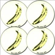 Click here for more info about 'Velvet Underground - Four Banana Badges'