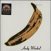 Click here for more info about 'Velvet Underground - The Velvet Underground & Nico - Yellow Vinyl - Sealed'