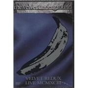 Velvet Underground Velvet Redux Live MCMXCIII - Sealed USA DVD