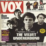 Click here for more info about 'Velvet Underground - Vox - July 1993'