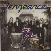 Click here for more info about 'Vengeance - We Have Ways To Make You Rock'